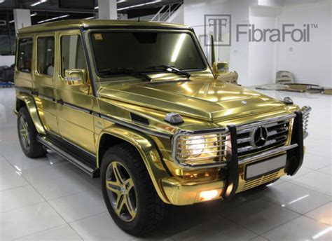 wrapped g wagon gold wrapped mercedes benz g class takes a bow at dubai
