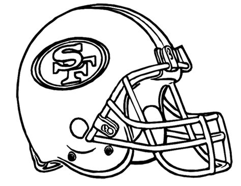 football helmet san francisco clipart panda free