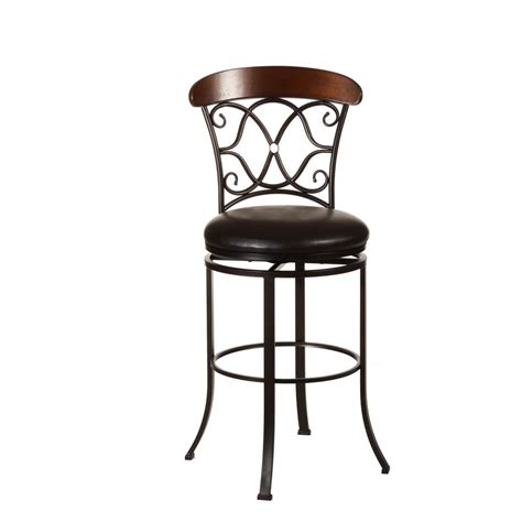 K D Furniture Bar Stools by Home Decorators Collection Circles Back Swivel Counter