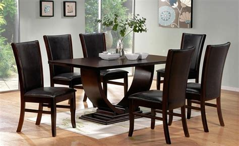 black modern dining room sets best contemporary dining room sets tedx decors