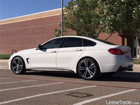 bmw 435i gran coupe lease