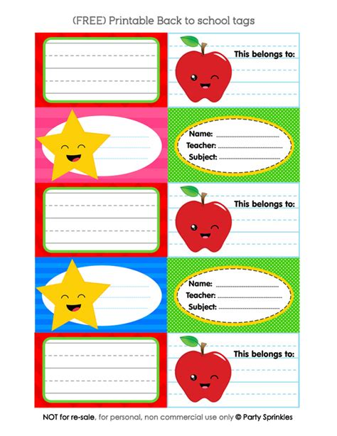 printable school tags free printable back to school name tags party sprinkles