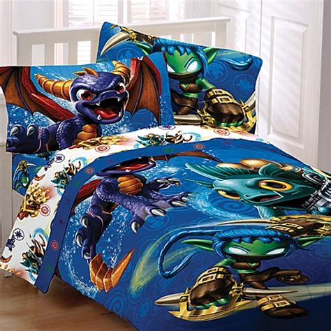 skylanders bedding skylanders bedding and bath collection bed bath beyond