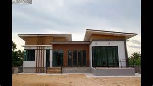 thai modern house md15 youtube