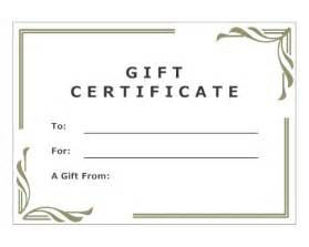 make your own certificate templates best photos of make your own gift certificates make your