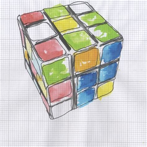 Origami Rubix Cube - 85 best cubes domino and dice illustrations images on