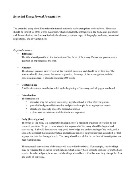 Formal Writing Essay by Formal Essay Exle Formal Essay Exle Visual Analysis Formal An Format Cover Letter