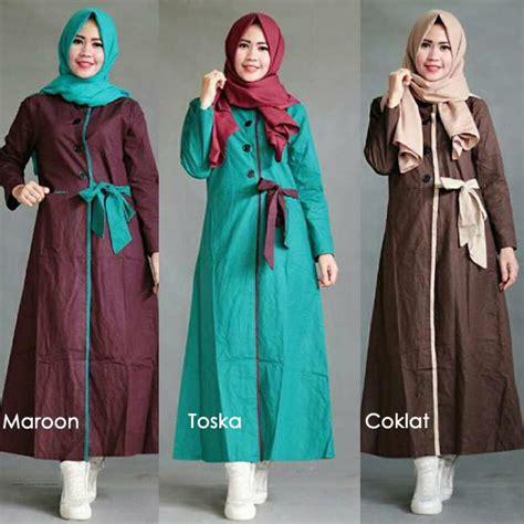 Tunik Atasan Blouse Wanita Baju Muslim Mayra Tunique trean pakaian terbaru yang digemari fuenteq