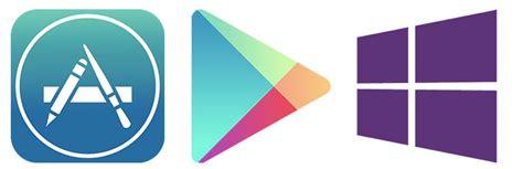 play store windows phone 8 инфографика приложения в app store play и windows