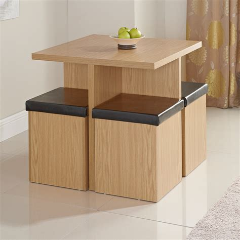 stockholm stowaway dining set 5pc dining furniture - Stowaway Kitchen Table And Stools Set