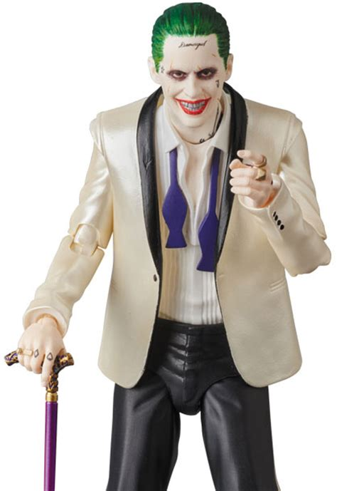 squad the joker suit version mafex figure by medicom actionfiguresdaily