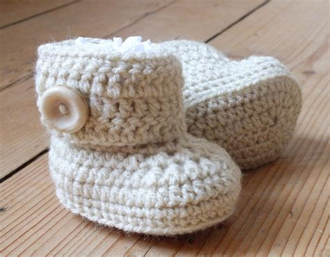 pattern crochet for baby baby ugg style boots crochet pattern crochet pinterest