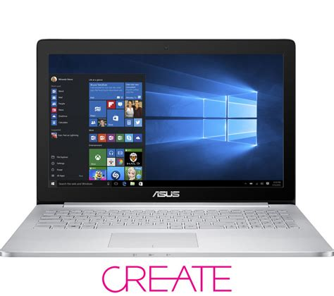 Is Asus Zenbook A Laptop asus zenbook pro 15 6 quot 4k touchscreen laptop grey deals pc world