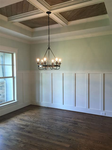 Wainscoting On Ceiling by Wall Color Sea Salt Sw Wainscotting Decorative Ceiling