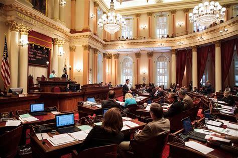 california state legislature trump inspires defiance and optimism in california