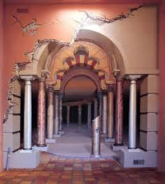 Artistic Wall Murals Architecrue Optical Illusions Gallery Surreal Murals Wall