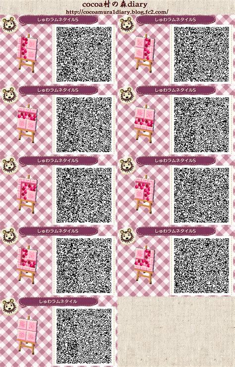pink pattern acnl cocoa village forest diary animal crossing new leaf my