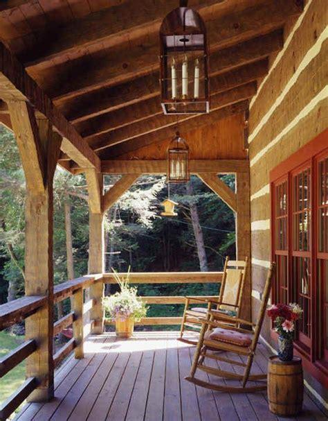 log cabin porch dreams decor pinterest knisley home porch log home pinterest decks front
