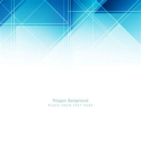 Modern Blue Modern Blue Polygons Background Design Vector Free