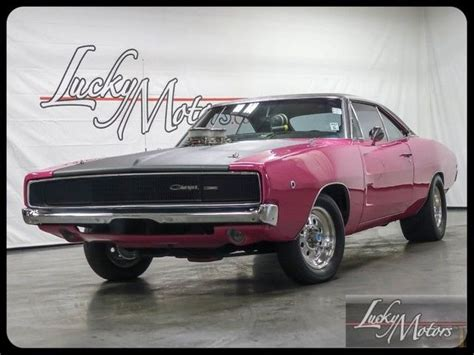 pink charger for sale 1968 dodge charger 440ci panther pink