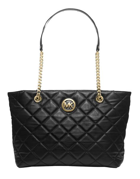 Michael Kors Quilted Handbags by Michael Michael Kors Fulton Quilted Leather Large Eastwest