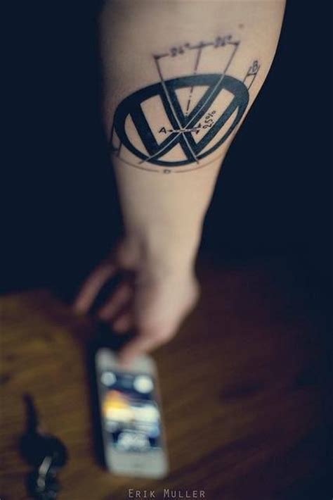 tattoo vw logo 56 best vw and volvo tattoos images on pinterest tattoo