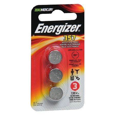 energizer watch/electronic silver oxide batteries lr44