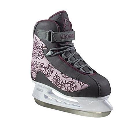 american athletic shoe american athletic shoe s soft boot hockey skates grey 9