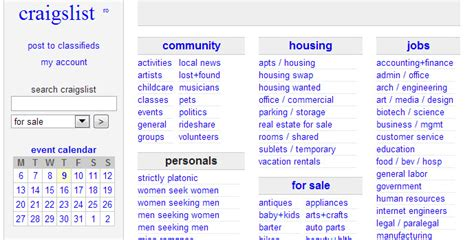 Apartment Websites Like Craigslist 5 Directory Design Ideas You Should Borrow Business
