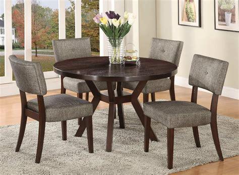 comedor circular  sillas tapizada madera pino madera