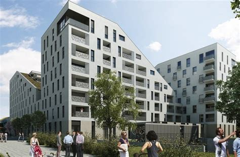 Frau Architektur Design Gmbh by Spatenstich F 252 R Quot Leben Am Ostpark Quot Muenchenarchitektur