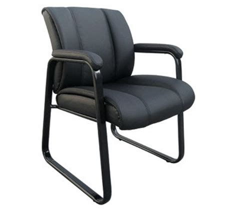 Officemax Chair by Officemax Bellanca Luxury Guest Chair Black Om02483