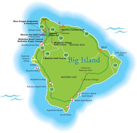map of big island hawaii big island golf deals big island discount golf best big island golf rates