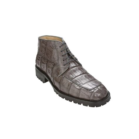 belvedere boots belvedere ugo crocodile boots gray mensdesignershoe