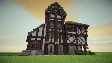 medieval house design large medieval house design minecraft project
