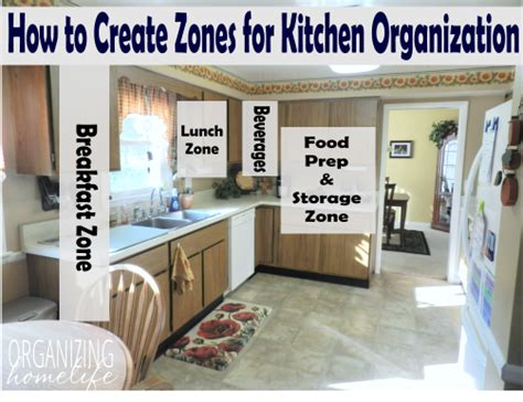 Kitchen Zones How To Strategically Organize Your Kitchen Organize Your