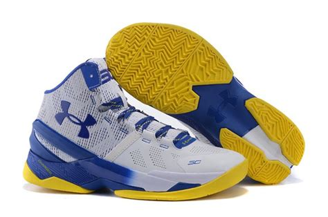Curry 2 Dubnation Blue cheap armour curry 2 dub nation blue white yellow hoop