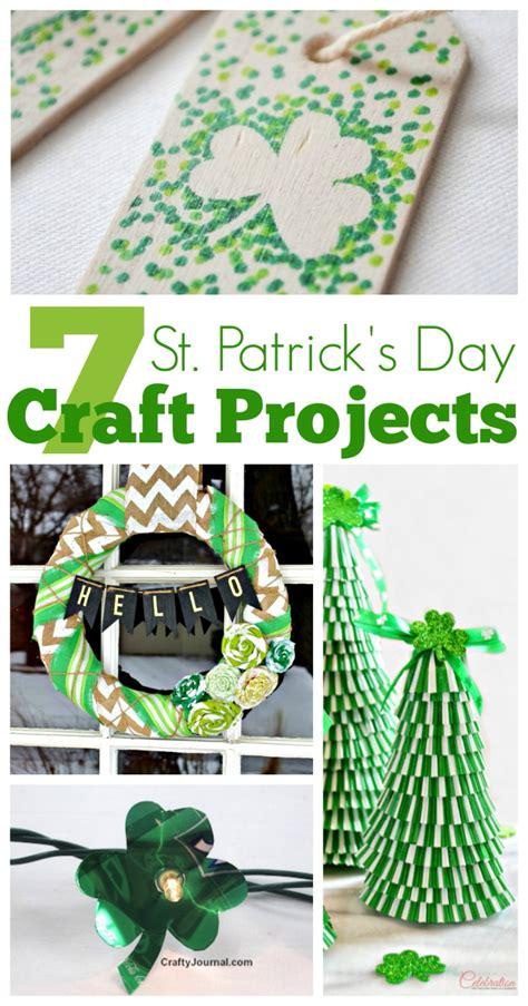 st patricks day craft projects  crafty blog stalker