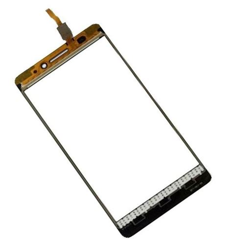 Lcd Lenovo A7000 Fulset White touch screen digitizer for lenovo a7000 black by maxbhi
