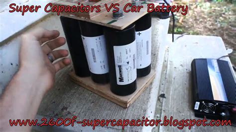 capacitor battery truck capacitor vs car battery 2600f supercapacitor