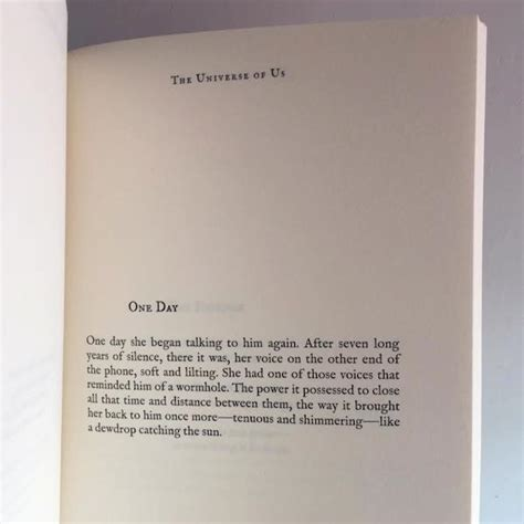 book review the universe of us by lang leav amreading