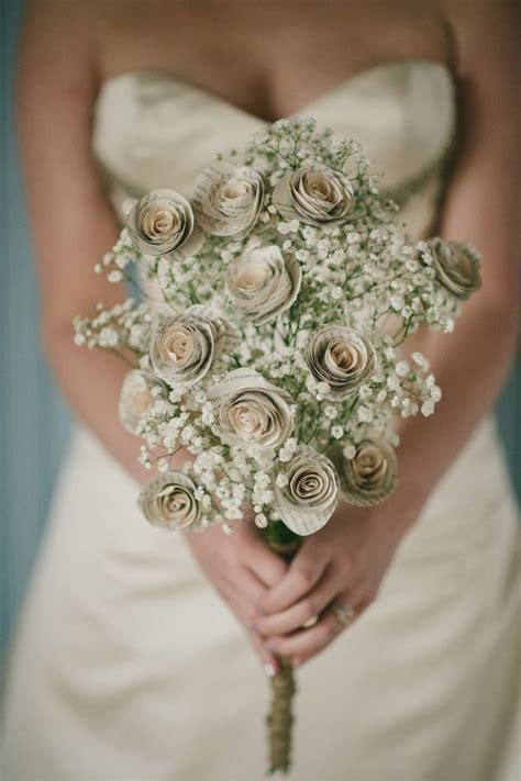 Bouquet With Paper - best 25 paper wedding bouquets ideas on paper