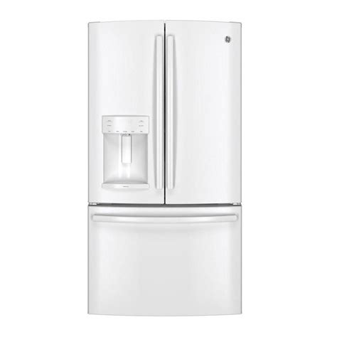 ge adora ge adora 25 4 cu ft side by side refrigerator in white
