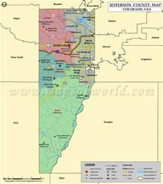 jefferson colorado map jefferson county map colorado map of jefferson county co