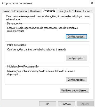 clicar na guia lateral em resumo da declarao e depois clicar otimizando o desempenho do windows 10