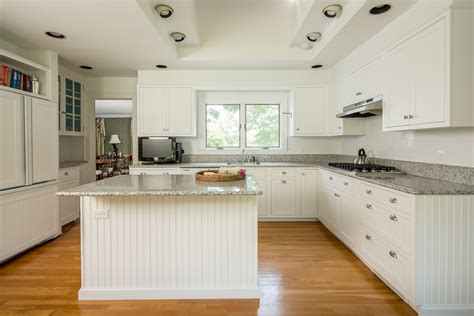 White Beadboard Kitchen Cabinets by White Beadboard Kitchen Cabinets Roselawnlutheran