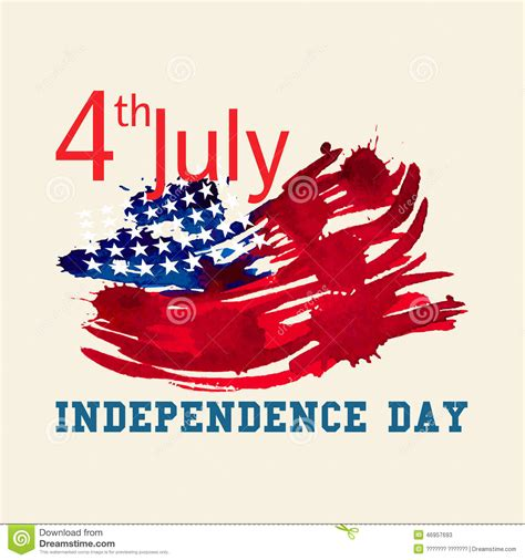 how to make independence day greeting card greeting card with u s flag independence day of stock