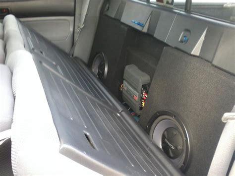 Toyota Tacoma Subwoofer Speaker Box Tacoma World