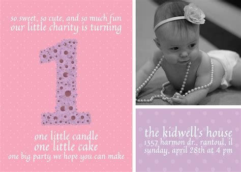 Turning 1 Birthday Quotes 1 Year Old Birthday Invite Free Download Eric E