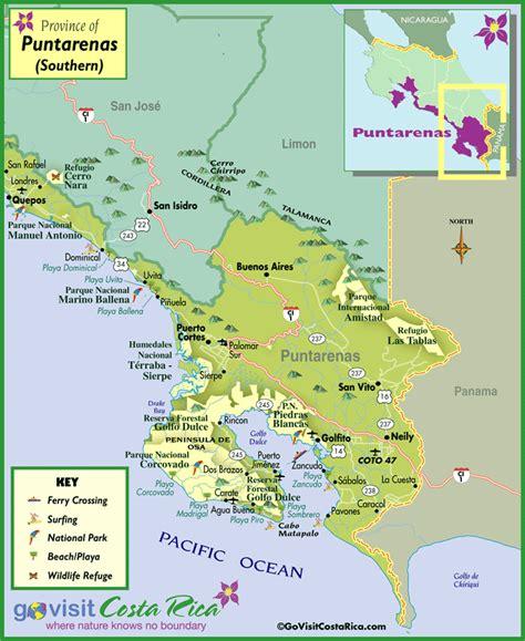 south america map costa rica costa rica american style puntarenas map